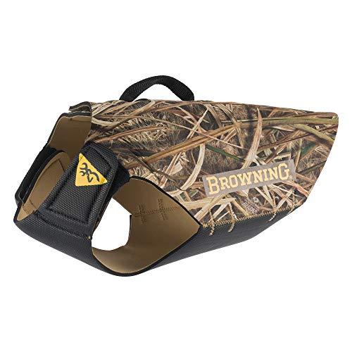 Browning 5mm Neoprene Dog Vest Dog Hunting Vest, 5mm Neoprene, Camo, Shadow Grass Blades, Medium