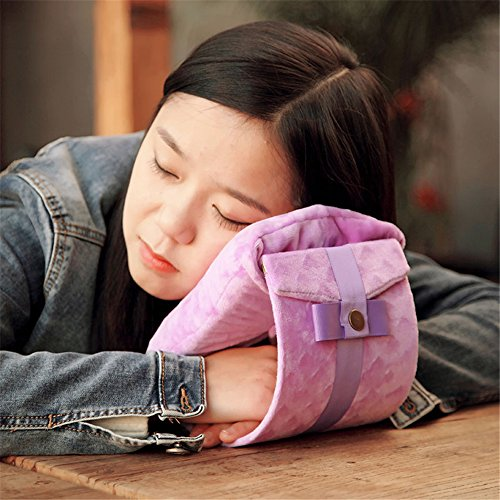 Memory Foam Travel Pillow Büro und Schule Nap schlafen Throwkissen Handgelenk Kissen Kissenverzerrung Hinterhauptbein Polstern -Kinn und Hals Support-Head Pillow-Everywhere Nod Off Sleep Auto Kissen