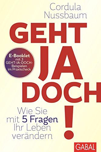 Praxis-Check Geht ja doch!: E-Booklet mit 3 Geht-ja-doch-Beispielen (Dein Leben)