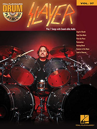 Drum Play Along: Slayer (Book/CD): CD, Play-Along für Schlagzeug