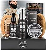 Best Beard Kits - UPGRADED Beard Kit for Men Beard Growth Grooming Review