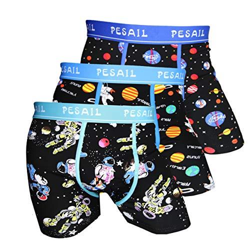 Pesail Special Edition Boxershorts let The Journey Start, Größe X-Large (XL), Farbe je 1x turkus, Blue, Dark Blue