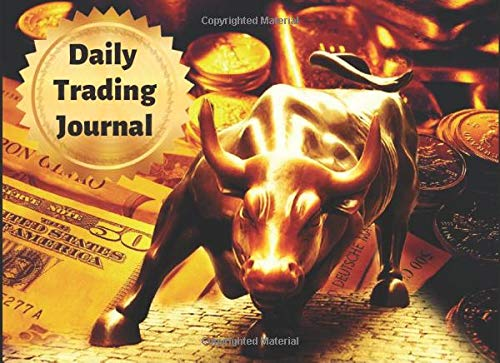 Daily trading journal: Daily trading journal :The Road to succees | 8.25x6 inches journal with 200 paages