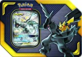 Pokemon Tag Team Tin Pikachu & Zekrom- TCG: Sun & Moon- Contains 4 Booster Packs & Featuring 1 Special Art Pikachu & Zekrom-GX Foil Card