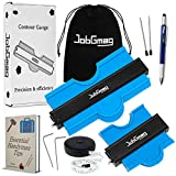 Contour Gauge 10 Inch and 5 Inch Complete Kit (2 Pack) - JobGmag...