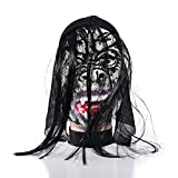 Maske HalloweenMaskerade MaskeTerrorist Latex Kopfbedeckung Großhandel Maske Nr. 2 Einheitsgröße