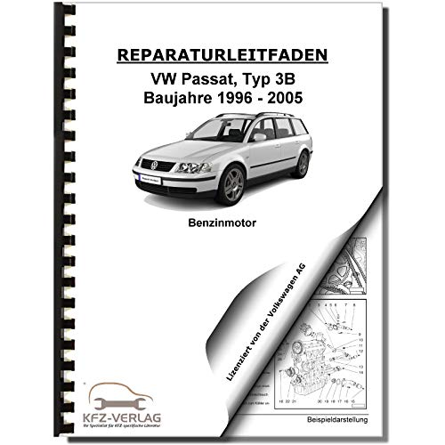 VW Passat 5 Typ 3B (96-05) 8-Zyl 4,0l Benzinmotor W8 274 PS Reparaturanleitung