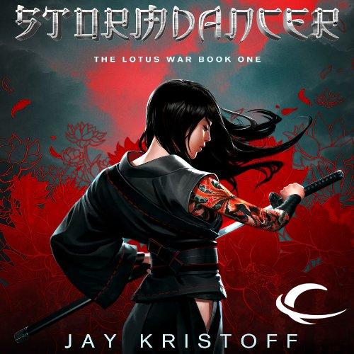 Stormdancer audiobook cover art