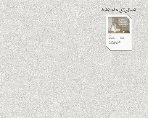 Tapete 301759 Kollektion Elegance 3 inklusive E-Book grau, Uni, Einfarbig, 30175-9 A.S. Création Vliestapete