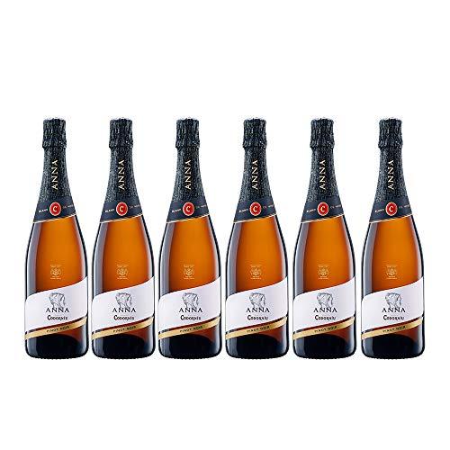 Codorníu | Cava Brut Anna de Codorníu Blanc de Noirs | Caja de 6 botellas de 75 cl