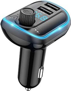 kesoto Transmissor de Carro BT5.0 Mãos Livres FM MP3 Player Transmissor