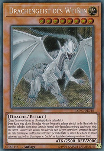 LCKC-DE018 - Drachengeist des Weißen - Secret Rare - Yu-Gi-Oh - Deutsch - 1. Auflage