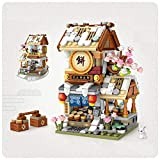 sembo LOZ Mini Blocks Kids Building Toys Teens Puzzle Chinatown Store (no Box) (1744)