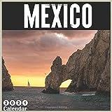 Mexico 2021 Wall calendar: Travel Mexico, 18 Month Calendar 2021