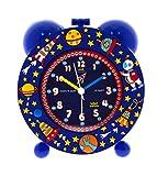 Baby Watch REVEIL Silencieux Cosmos Enfant, Plastique, Bleu, 11 x 6 x 13 cm