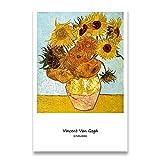 Colección Van Gogh, carteles impresos e impresiones, cuadros de pared, artistas clásicos, pinturas en lienzo sin marco de artistas V 30x40cm