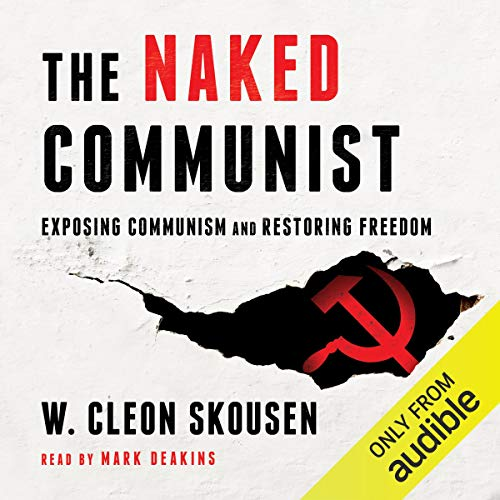 The Naked Communist audiobook cover art