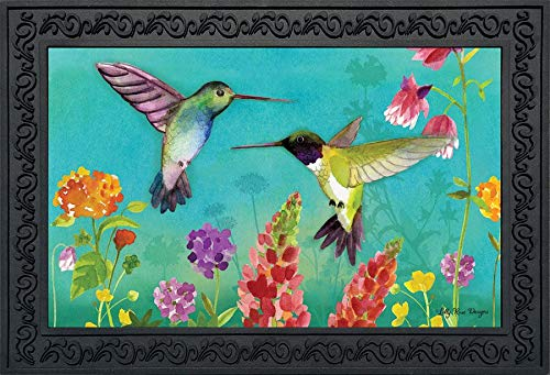 Briarwood Lane Hummingbird Greeting Spring Doormat Floral Indoor Outdoor 18