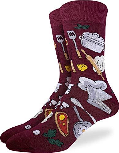 Good Luck Sock Men's Chef Socks, Adult