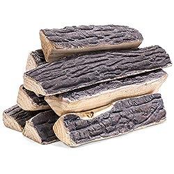 top rated 8 burton fireplace decoration ceramic log wooden fireplace gas log realistic log set 2021