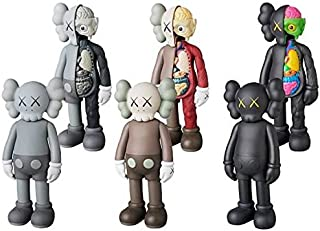 KAWS MEDICOM TOY COMPANION OPEN EDITION 6 figures set