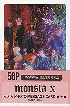 K-POP Group 2020 New Photo Message Card 56pcs set  Postcard / 56sheets   MONSTA X
