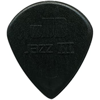 Dunlop 6 Púas Nylon Jazz iii 3 negras 1.38 mm: Amazon.es ...