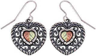 product image for Oxidized Black Hills Silver Earrings