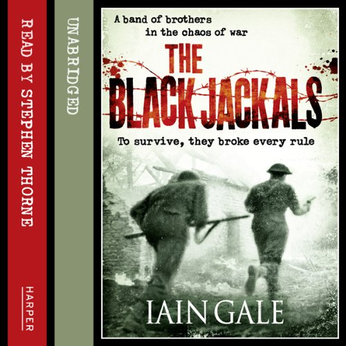 The Black Jackals audiobook cover art