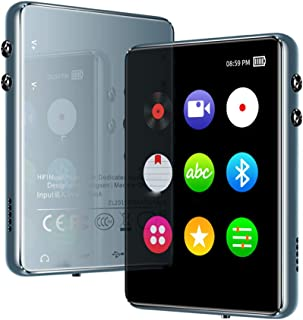 LIDIWEE MP3 Player with Bluetooth-16GB Full Touchscreen Portable HiFi Lossless Sound Mp4