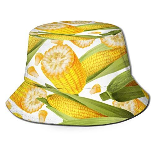 Thanksgiving Corns Unisex Sombrero para el Sol Verano Transpirable Pesca al Aire Libre Sombrero para el Sol, Protección UV