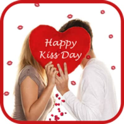 Kiss Day Gifts - National Kissing Day Gif, valentines day gift idea for girlfriend boyfriend wife husband