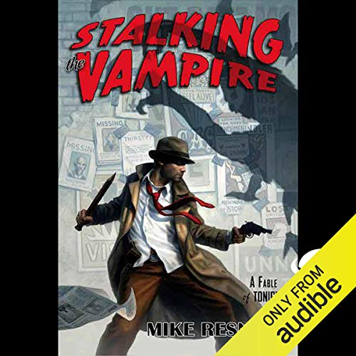 Stalking the Vampire audiobook cover art