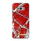 iDeal Of Sweden Scarlet Red Marble Handyhülle für Samsung Galaxy S8 Plus