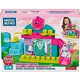 Mega Bloks-GKX80 Set de bloques de construcción de sirena con unicornio, multicolor (Mattel GKX80)