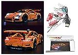 LED Light Up Kit Para lego Porsche 911 GT3 RS Modelos 42056 y 20001 kit de luz lego Led luces de lego luces lego Bloques...