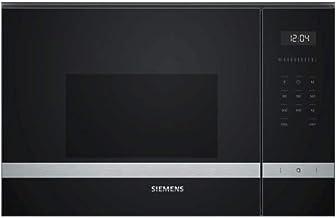 Siemens iQ500 BF555LMS0 - Microondas (Integrado, Solo microondas, 25 L, 900 W, Tocar, Negro)