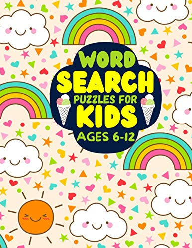 word search puzzles for kids ages 6-12: funny word search puzzles book for kids 6-12, funny activity puzzles book gift for children 6-12, for learning ... all ages of kids including popular vocabulary