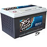 XS Power D6500 XS Series 12V 3,900 Amp AGM High Output Battery...