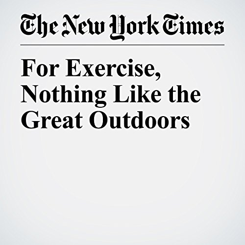 For Exercise, Nothing Like the Great Outdoors copertina