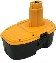 Kinon Reemplazo Herramienta Eléctrica Batería 18V 2.0Ah para Dewalt Taladro inalámbrico Destornillador DC9096 DE9039 DE9095 DE9096 DE9098 DE9503 DW9095 DW9096 DW9098 DC618 DC988KB