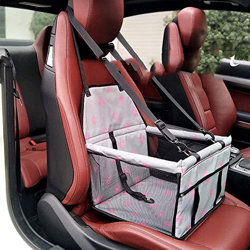 Bolso del coche mascota transpirable bolsa de hilado de la red espesado Asiento delantero tapizado de los asientos for mascotas perro cubierta del coche con el asiento del animal doméstico de la corre