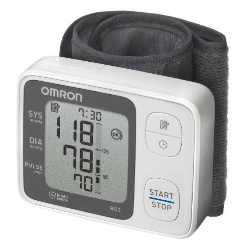 OMRON RS3 - Tensiómetro de muñeca, detección de movimiento corporal y de pulso arrítmico 🔥