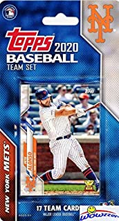 New York Mets 2020 Topps Baseball EXCLUSIVE Special Limited Edition 17 Card Complete Factory Sealed Team Set with Pete Alo...