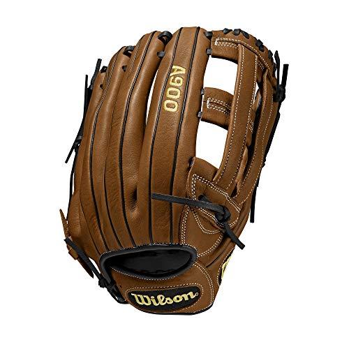 "Wilson A900 14"" Slowpitch Glove - Right Hand Throw , British Tan/Black"