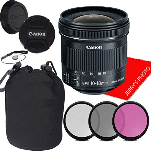 Canon EF-S 0.394-0.709in f/4.5-5.6 is STM Lens, Filters, Case, Cap Keeper & More