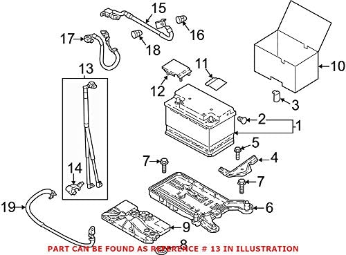Genuine Special price OEM Battery Cable for 5 ☆ popular Volkswagen 5QF971228A