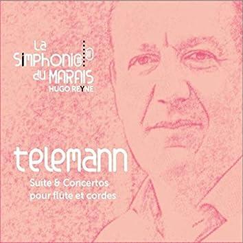 Telemann : Concertos & suite pour flûte et cordes