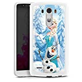 Coque en Silicone Compatible avec LG G3 Étui Silicone Coque Souple La Reine des neiges Elsa Produit...
