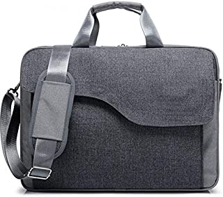 Canvas 15.6 inch Workout Messenger Should Bag Sleeve Briefcase Compatible Dell Inspiron 15 5000 (2018) / G5 15 Gaming / G7 15 / XPS 15 / XPS 15 2-in-1 / Inspiron 15 5000 2-in-1/7000 / 3000